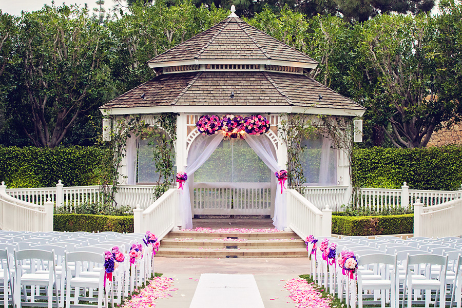 8 ways to decorate the rose court garden gazebo this for Outdoor wedding gazebo decorating ideas