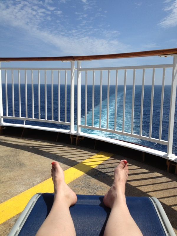 Revisiting Our Honeymoon – Sea Day 2 // Budget Fairy Tale