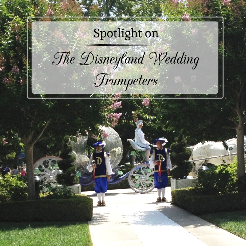 Spotlight on the Disneyland Wedding Trumpeters and Major Domo