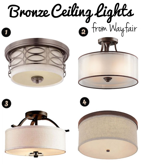 Decorating our Castle: Seeking Flush Mount Lighting Options that Aren't Ugly