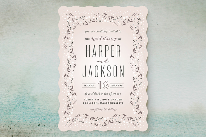 Fairy Tale Wedding Invitations from Minted This Fairy Tale Life