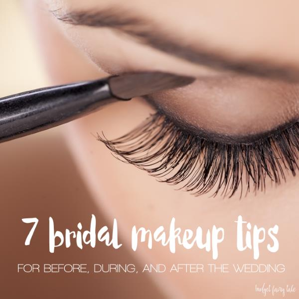 7 bridal makeup tips from a disneyland bride this fairy for Meuble coiffeuse pour se maquiller
