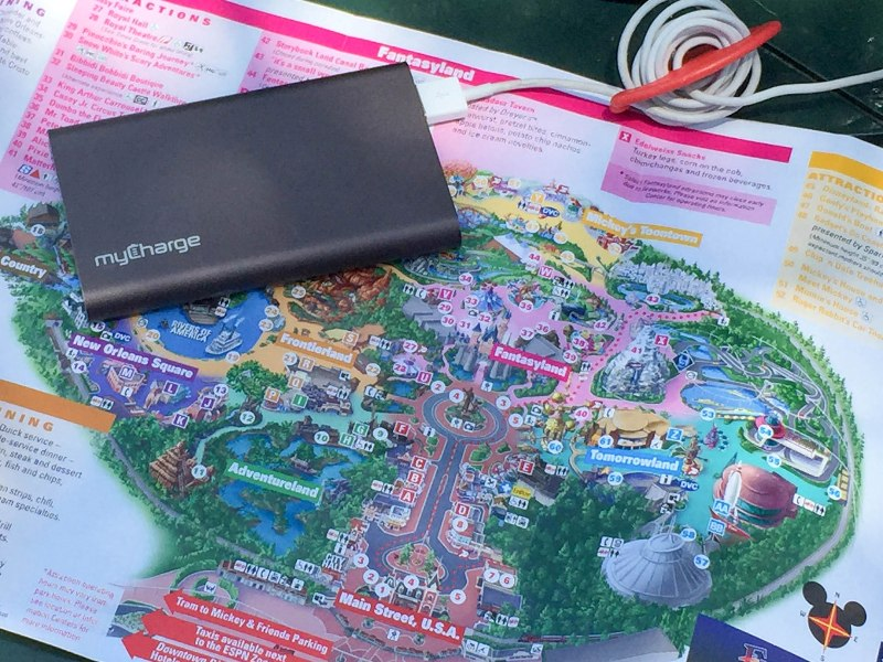 How to Keep Your Phone Going All Day at Disneyland with MyCharge