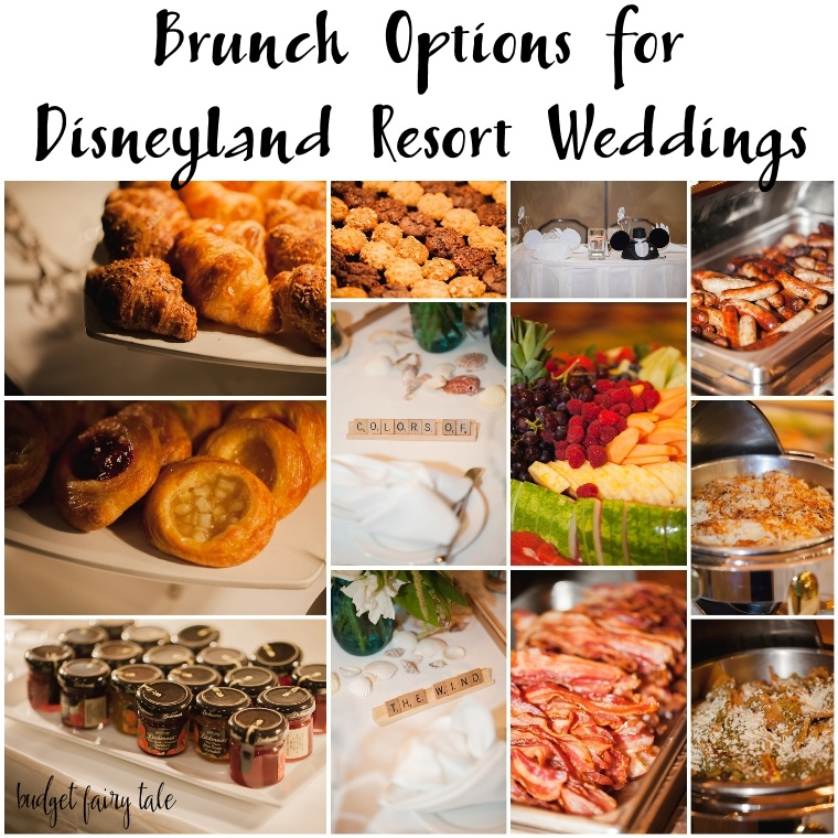 A Closer Look at the Brunch Reception Options for Disneyland Resort Weddings // Photo by Casey H Photos