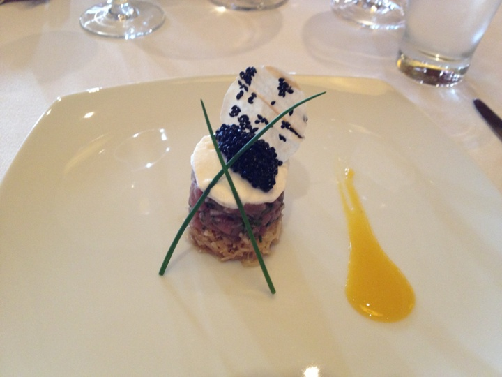 Revisiting Our Honeymoon - Norwegian Cruise Line's Chef's Table // Budget Fairy Tale