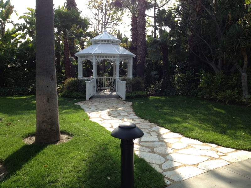 Venue Spotlight: Adventure Lawn Gazebo for Disneyland Weddings // Budget Fairy Tale
