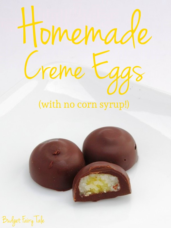 Homemade Creme Eggs // Budget Fairy Tale