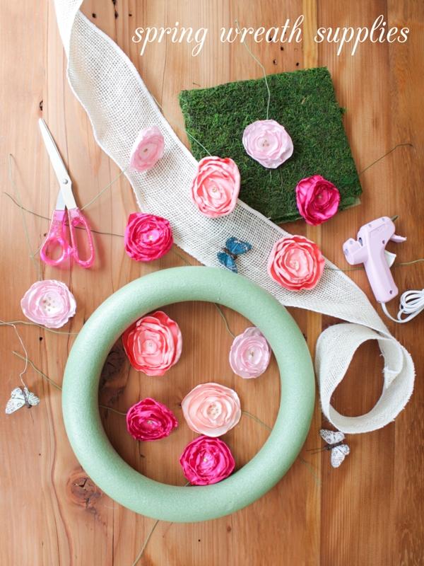 DIY Mossy Spring Wreath