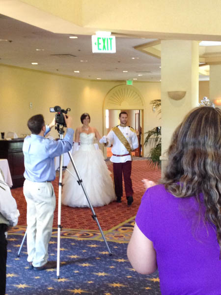 A Fairy Tale Disneyland Wedding