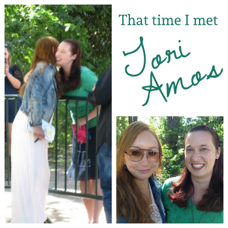 Life List Items Complete: Hug Tori Amos & See a Concert from the Front Row