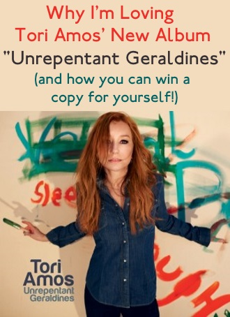 "Why I'm Loving Tori Amos' new Album ""Unrepentant Geraldines"" (and a Giveaway!)"