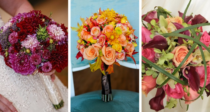 12 Perfect Fall Disney Wedding Bouquets