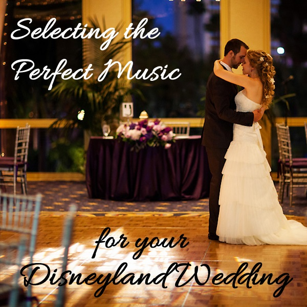 Selecting Music for Your Disneyland Wedding // Photo by White Rabbit Photo Boutique