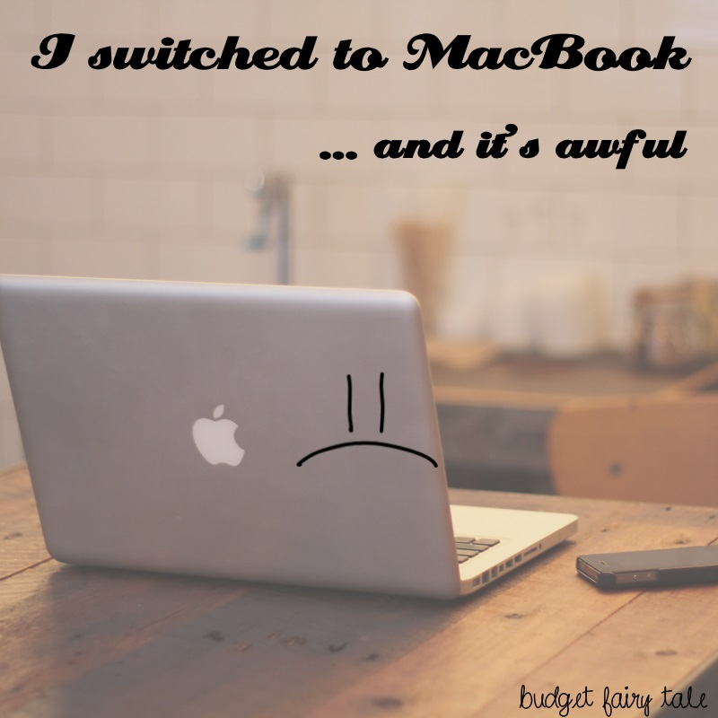 I Switched to a MacBook and it's Awful