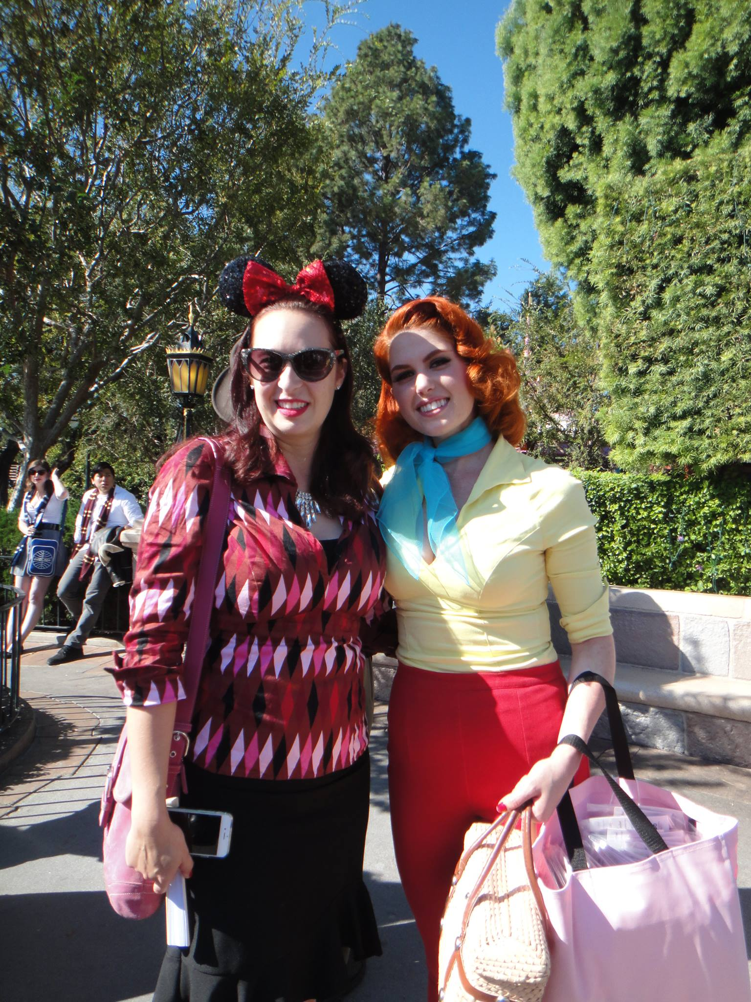 Strolling in Style at Pinup Parade in the Park