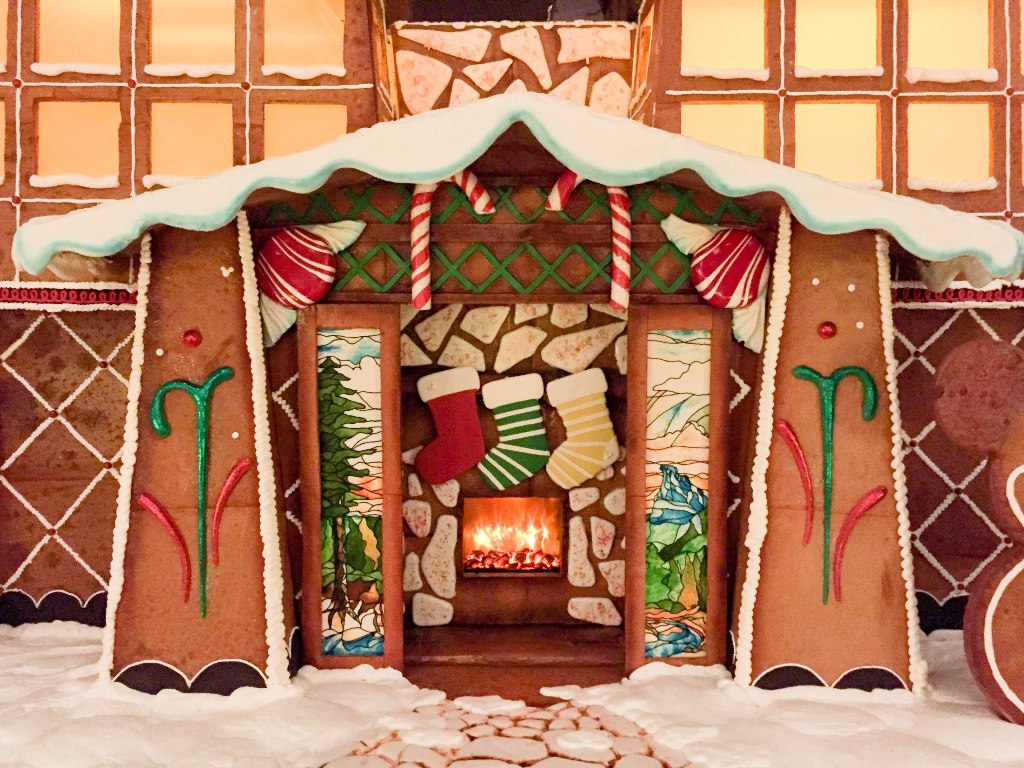 "A ""Grand"" Addition to Holiday Time at The Disneyland Resort - Disney's Grand Californian Hotel Gingerbread House"