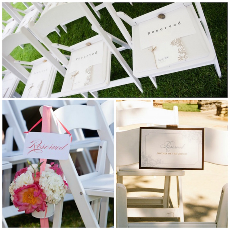 picture regarding Free Printable Reserved Seating Signs named Free of charge Printable Reserved Seating Symptoms for Your Wedding day Rite