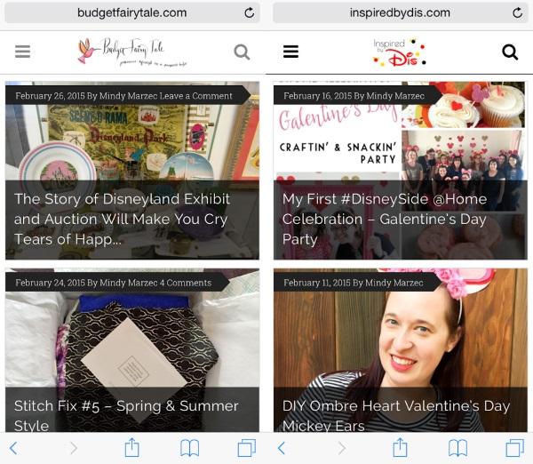 Blogging Report - January 2015