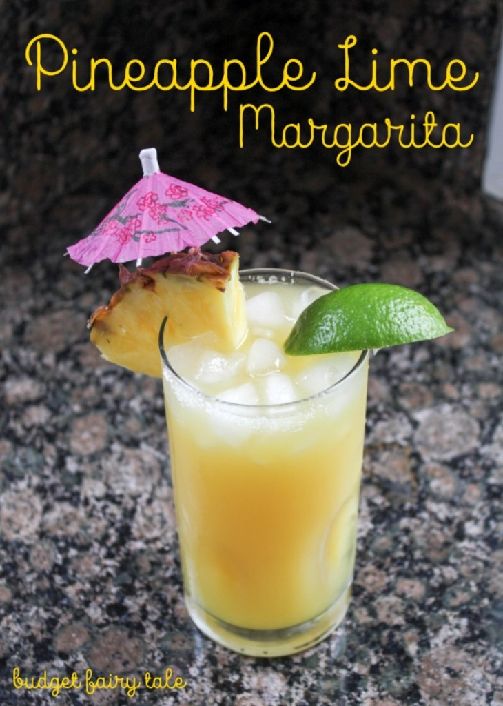 Pineapple Lime Margarita Recipe