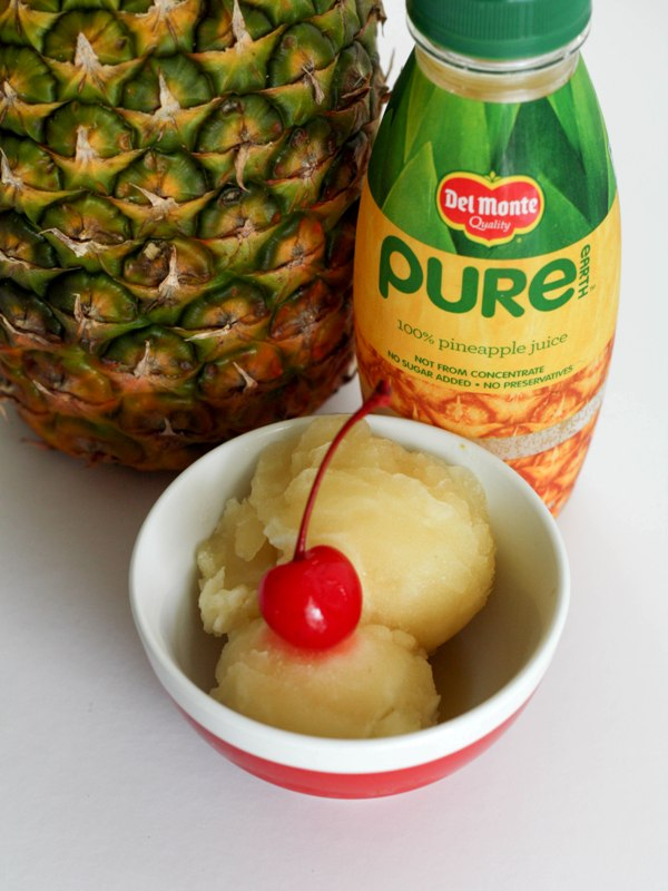 Pineapple Thyme Sorbet Recipe