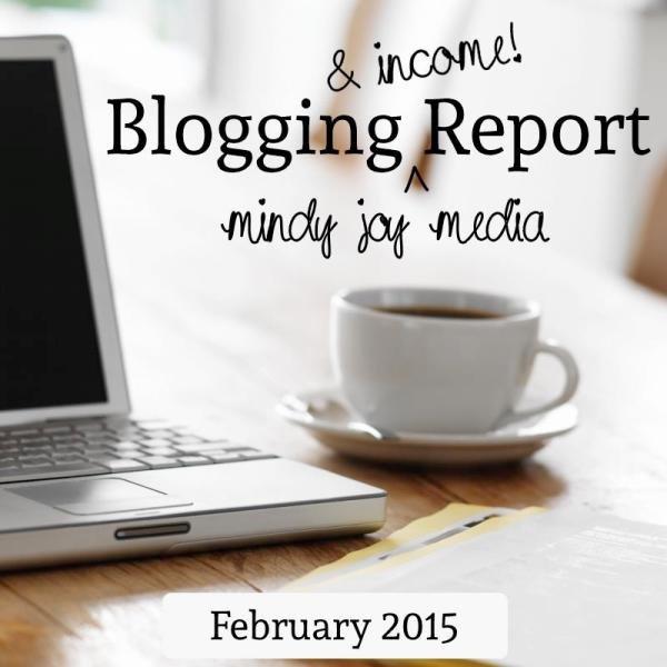 Blogging and Income Report - February 2015