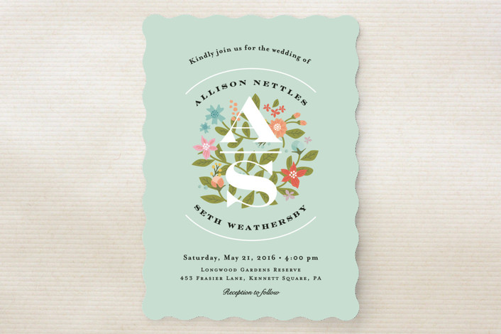 Fairy Tale Wedding Invitations from Minted