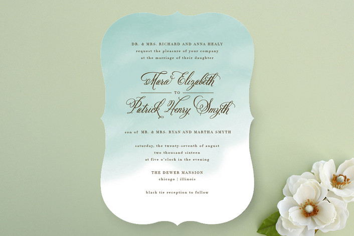 Fairytale Wedding Invitations from Minted