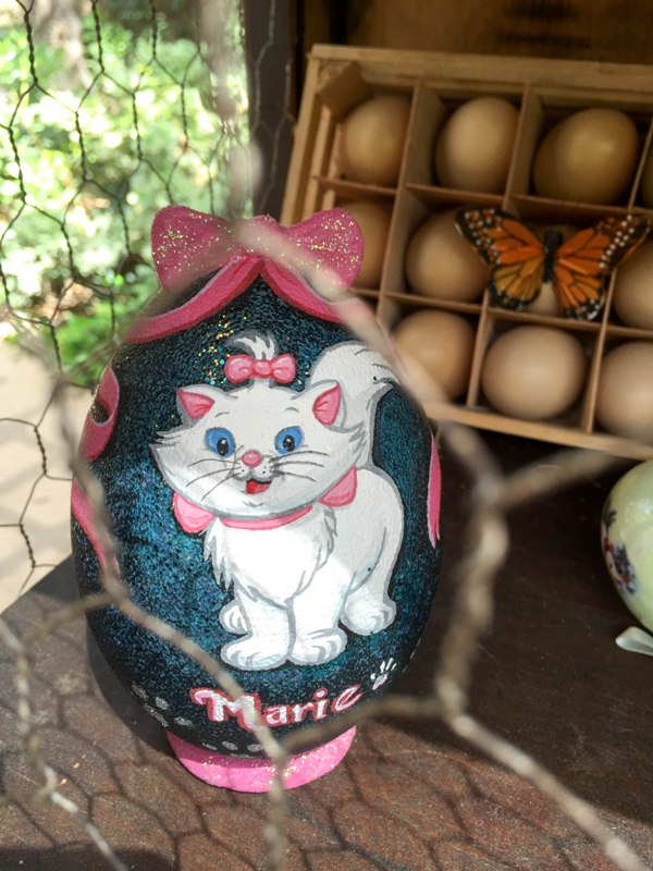 Disneyland's Painted Eggs for Easter