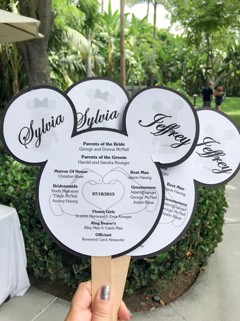 "A True ""Guest"" Post - Sylvia and Jeff's DIY Disneyland Hotel Wedding"