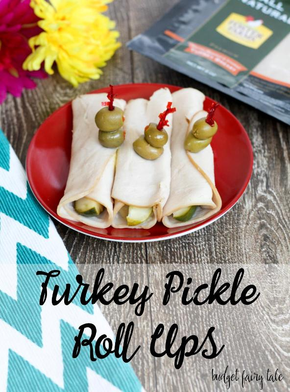Easy Low Carb Snack: Turkey Pickle Roll Ups